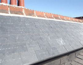 new slate or tiled roof